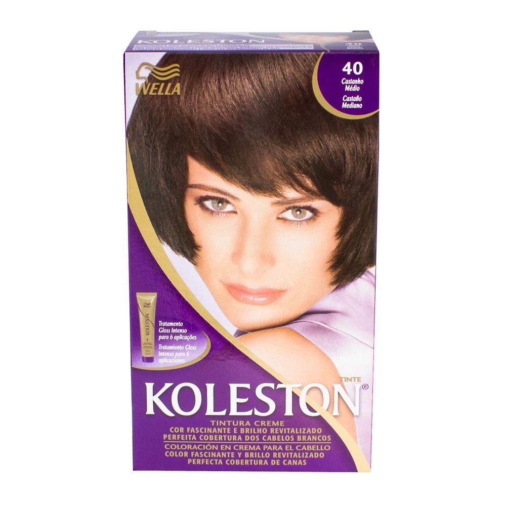 Wella Koleston 1 Picture | Dark Brown Hairs