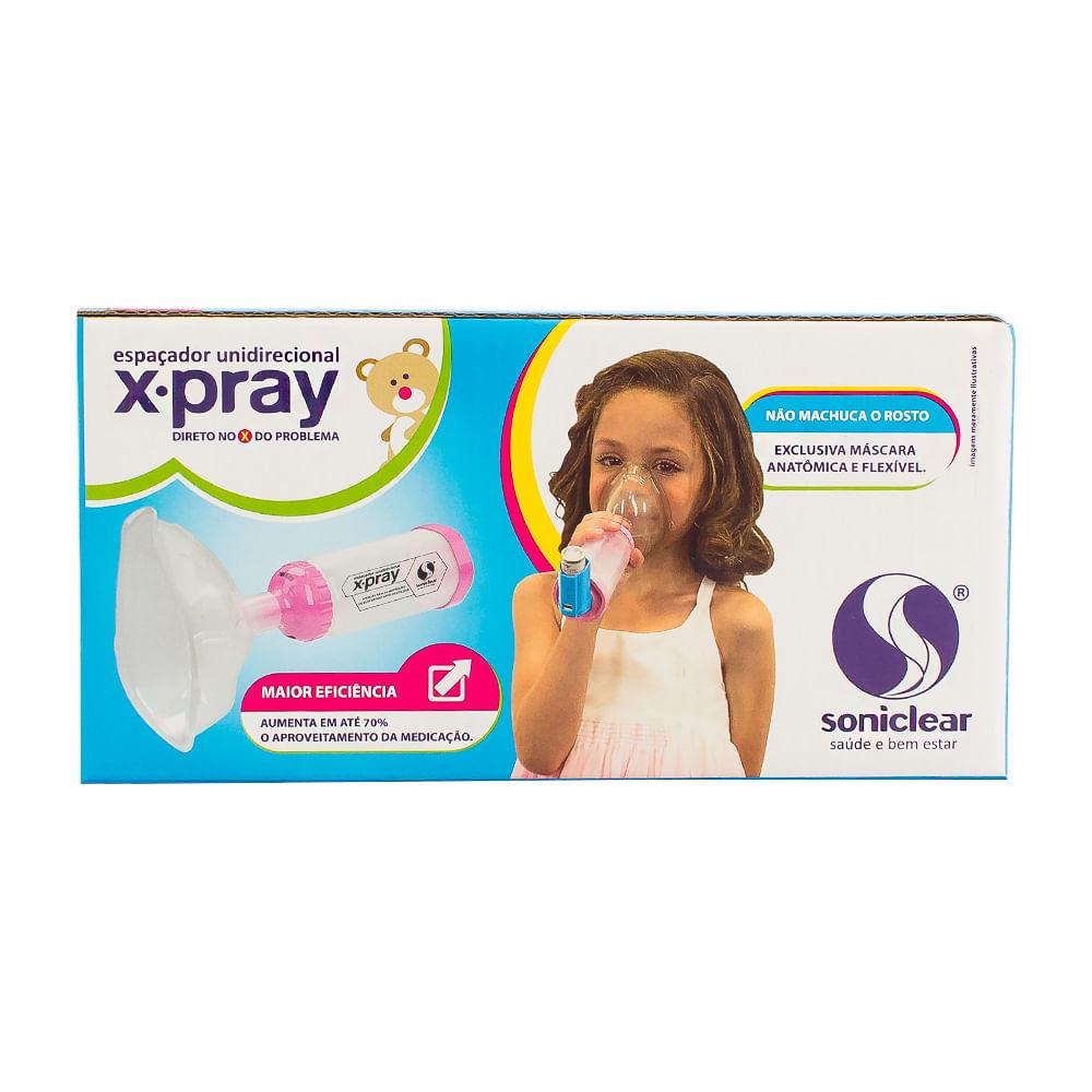 Espaçador Unidirecional Soniclear X-Pray Infantil Rosa