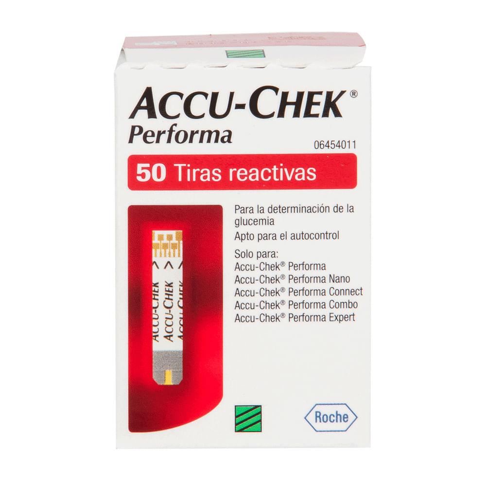 Accu-Chek Performa Tira Teste 50 Unidades