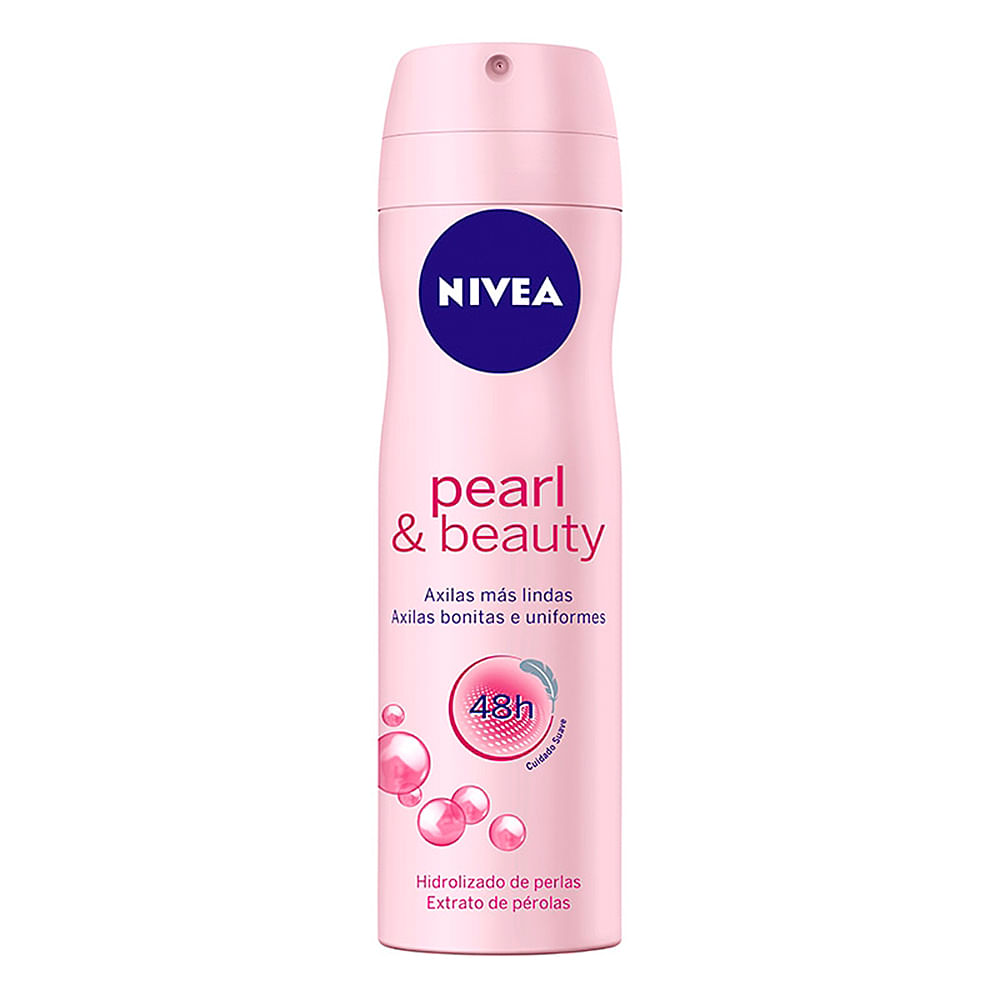 Desodorante Nivea Pearl & Beauty Aerosol Antitranspirante 48h com 150ml
