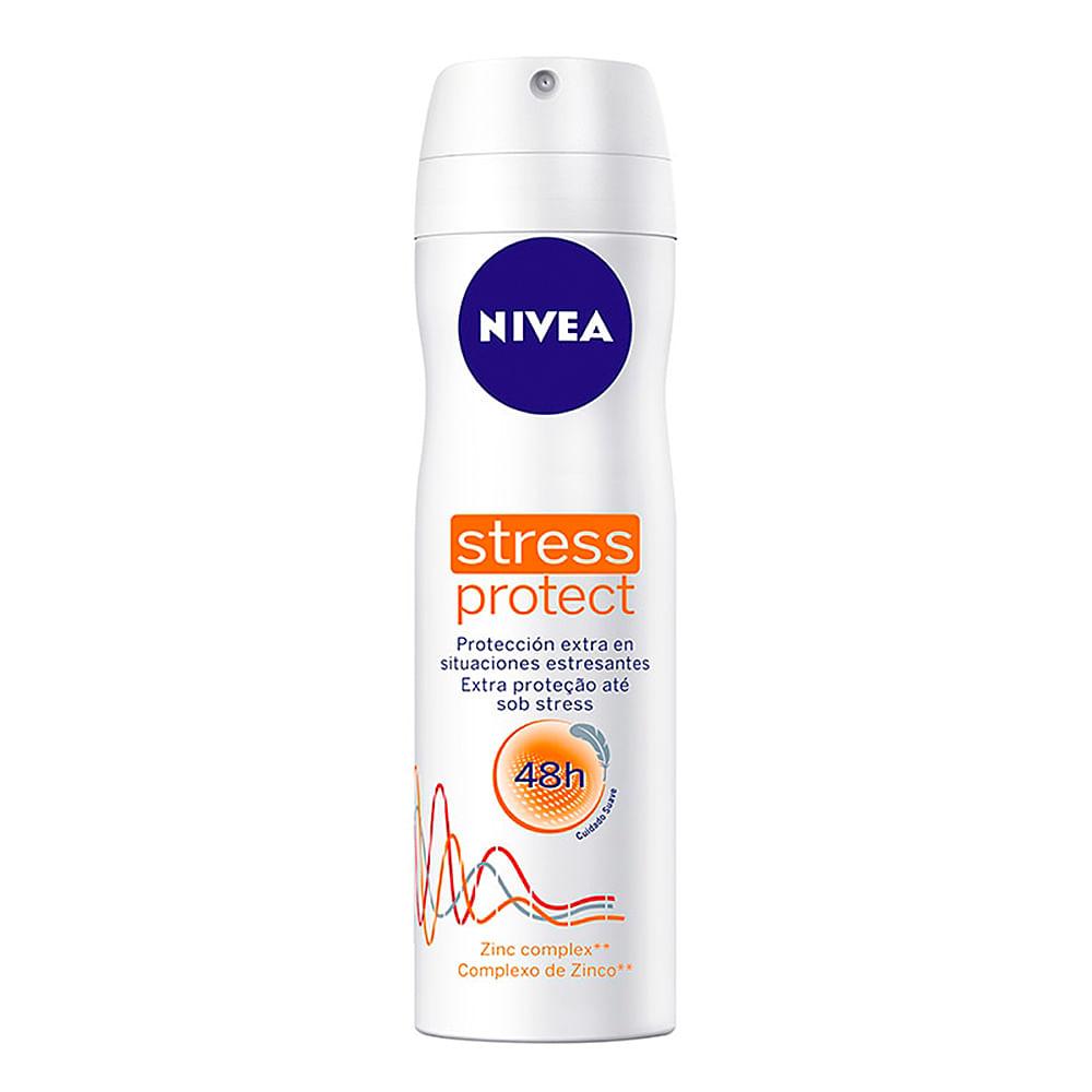Desodorante Nivea Stress Protect Aerosol Antitranspirante 48h com 150ml