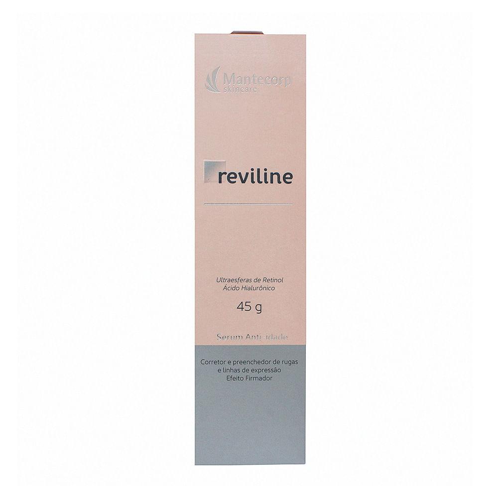 Reviline Mantecorp Serum Anti-idade com 45g