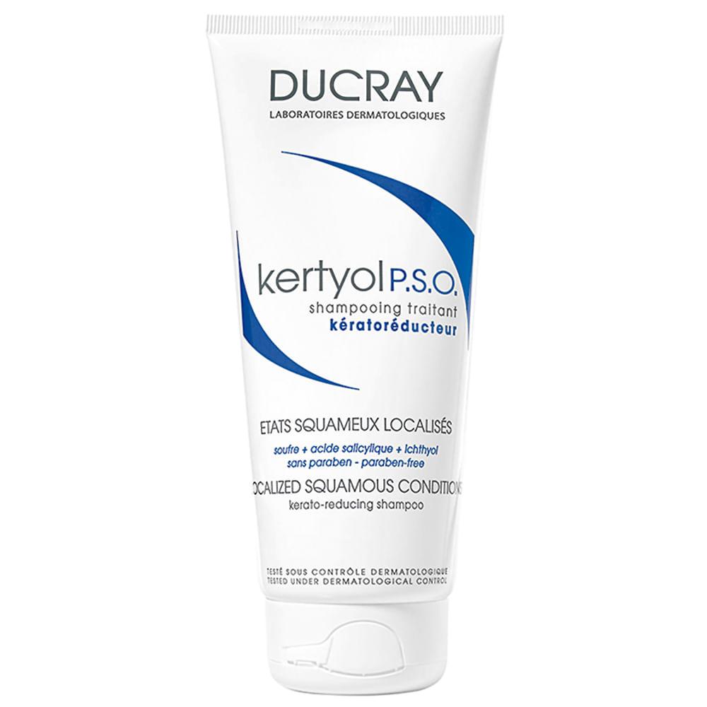 Kertyol PSO Ducray Shampoo Queratorredutor Anticaspa com 125ml