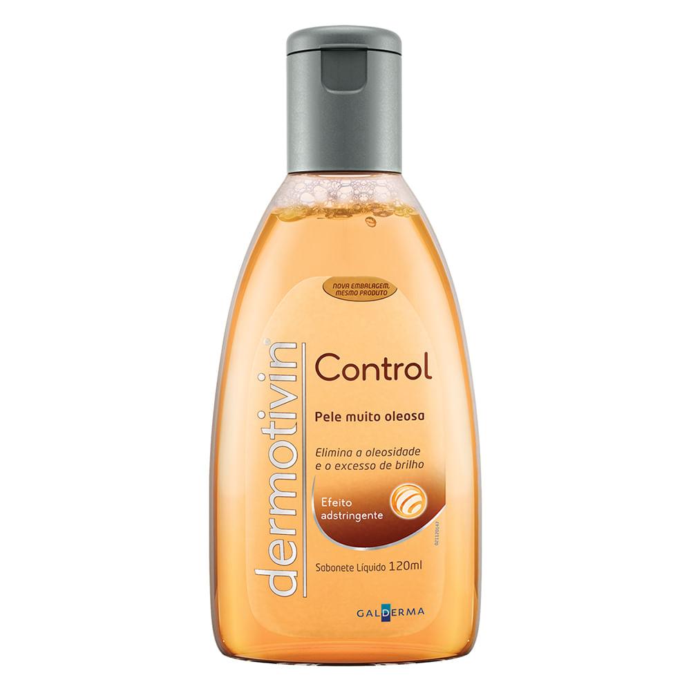 Dermotivin Control Sabonete Líquido para Pele Muito Oleosa com 120 ml