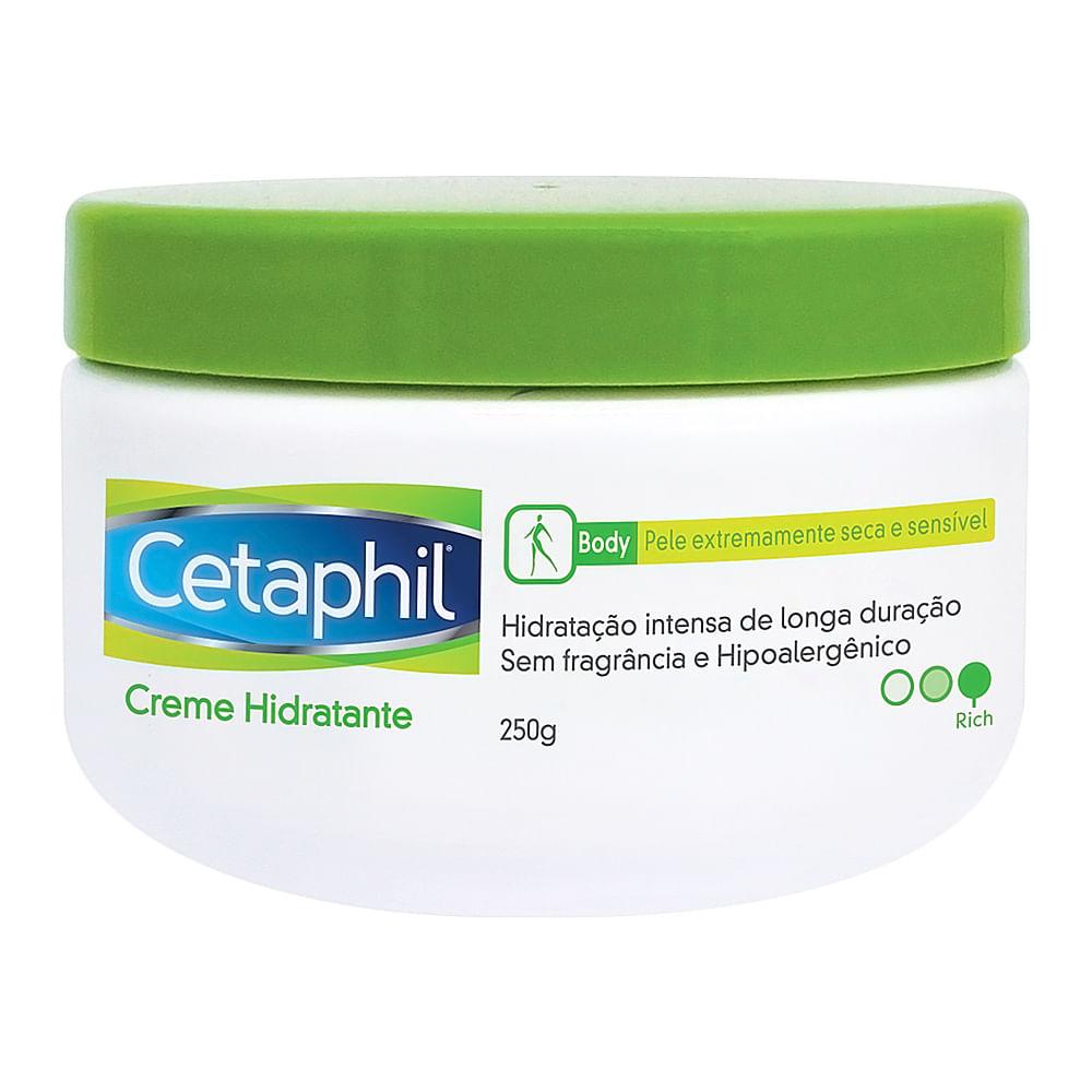 Cetaphil Creme Hidratante Galderma com 250g para Pele Extrasseca