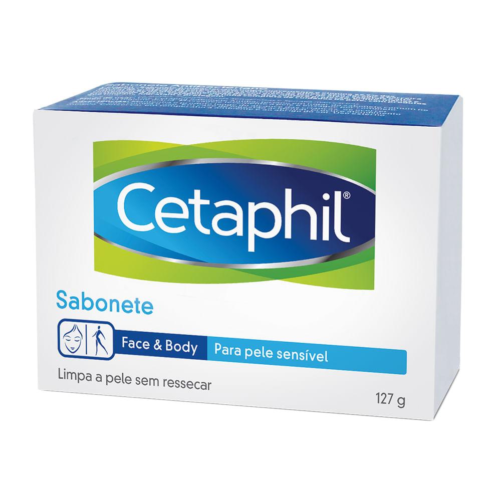 Cetaphil Sabonete Barra Pele Sensível Galderma com 127g