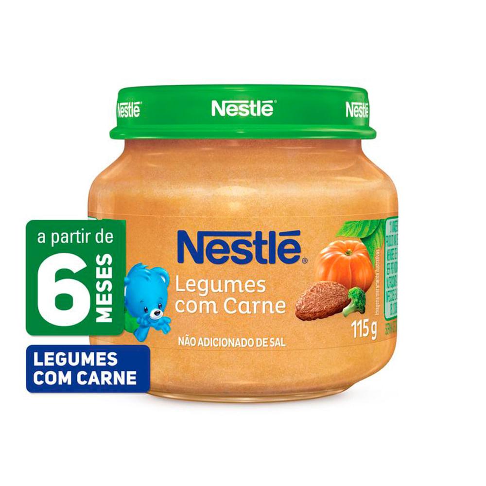 Papinha Nestlé de Legumes com Carne com 115g