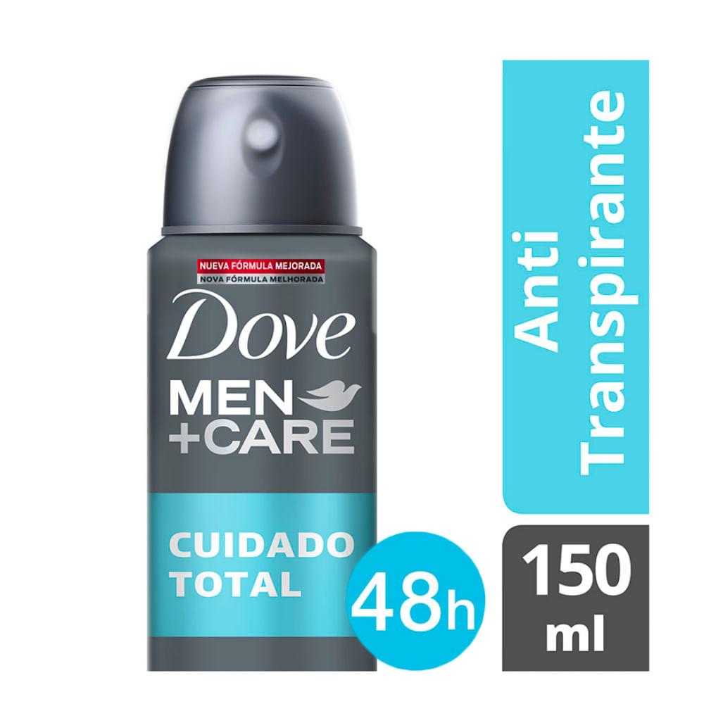 Desodorante Dove Men + Care Cuidado Total Aerosol Antitranspirante 48h 150ml