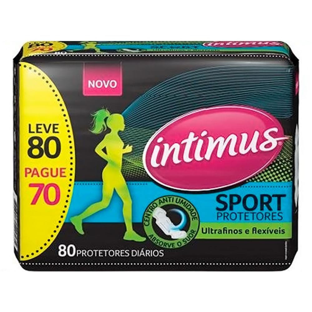 Protetor Diário Intimus Sport Leve 80 Pague 70