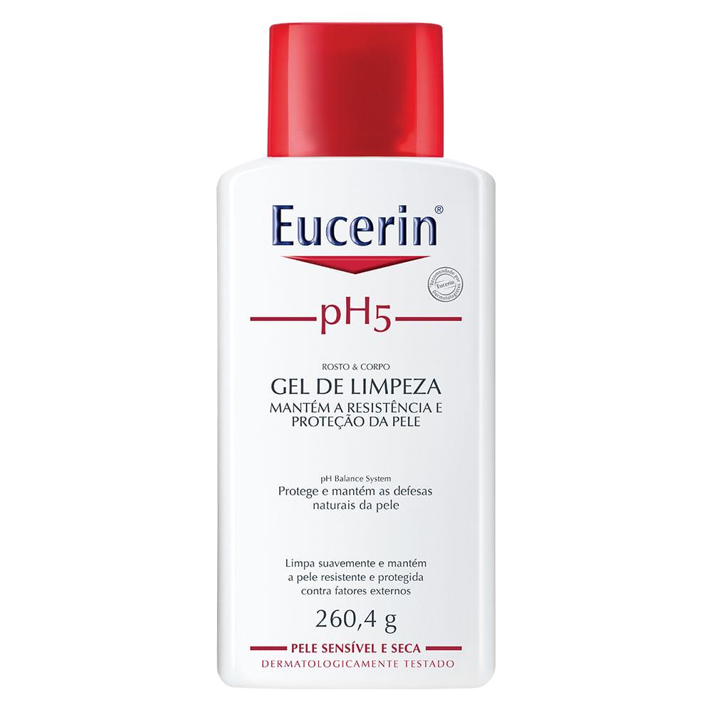 pH5 Skin-Protection Syndet Eucerin Gel de Limpeza para Pele Sensível com 260,4g