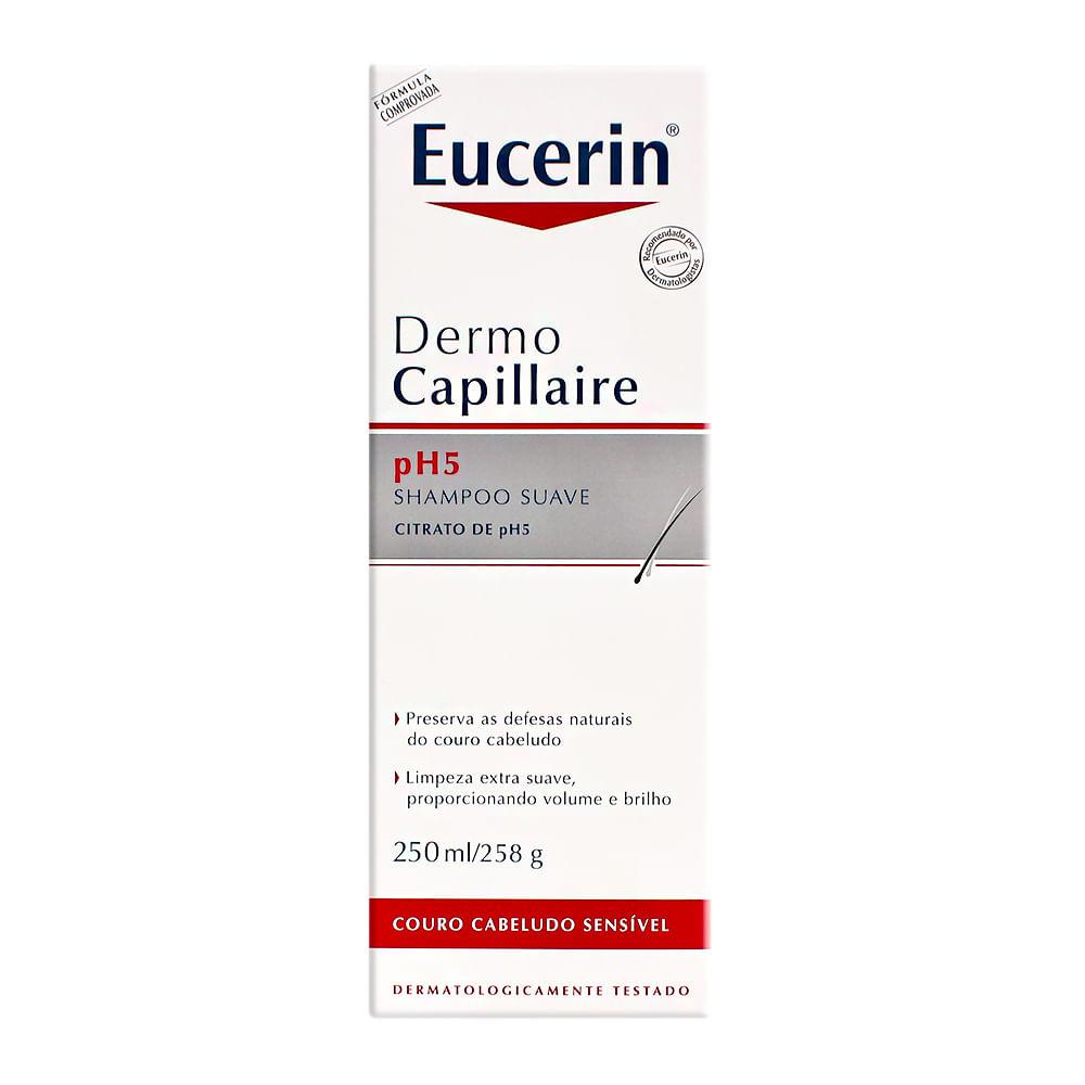 Dermo Capillaire Eucerin Shampoo Couro Cabeludo Sensível com 250ml