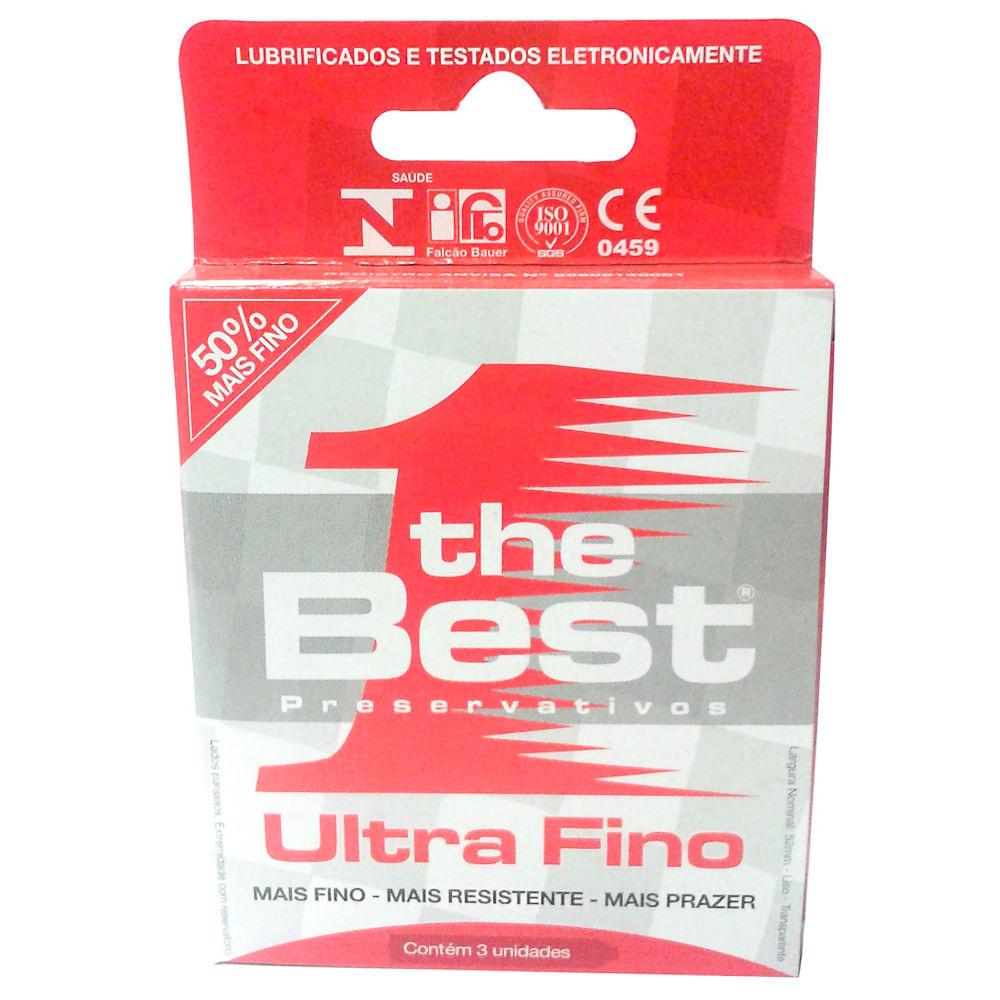 388edc8b1 Preservativo The Best Ultra Fino - Drogaria Araujo