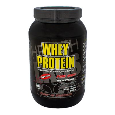 f6af65c94 Whey Protein Health Labs Chocolate com 900g