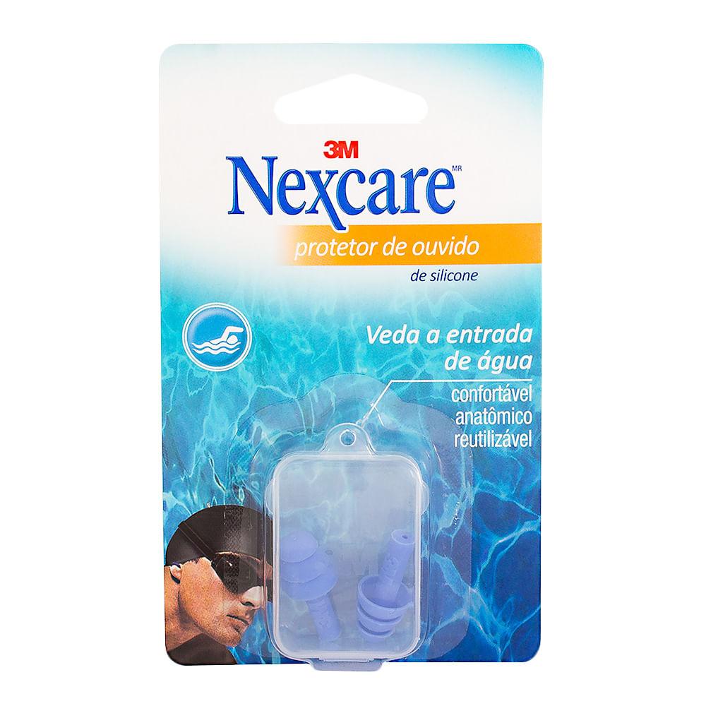 Protetor de Ouvido Nexcare 3M Silicone com 1 Par e5e14a00d1