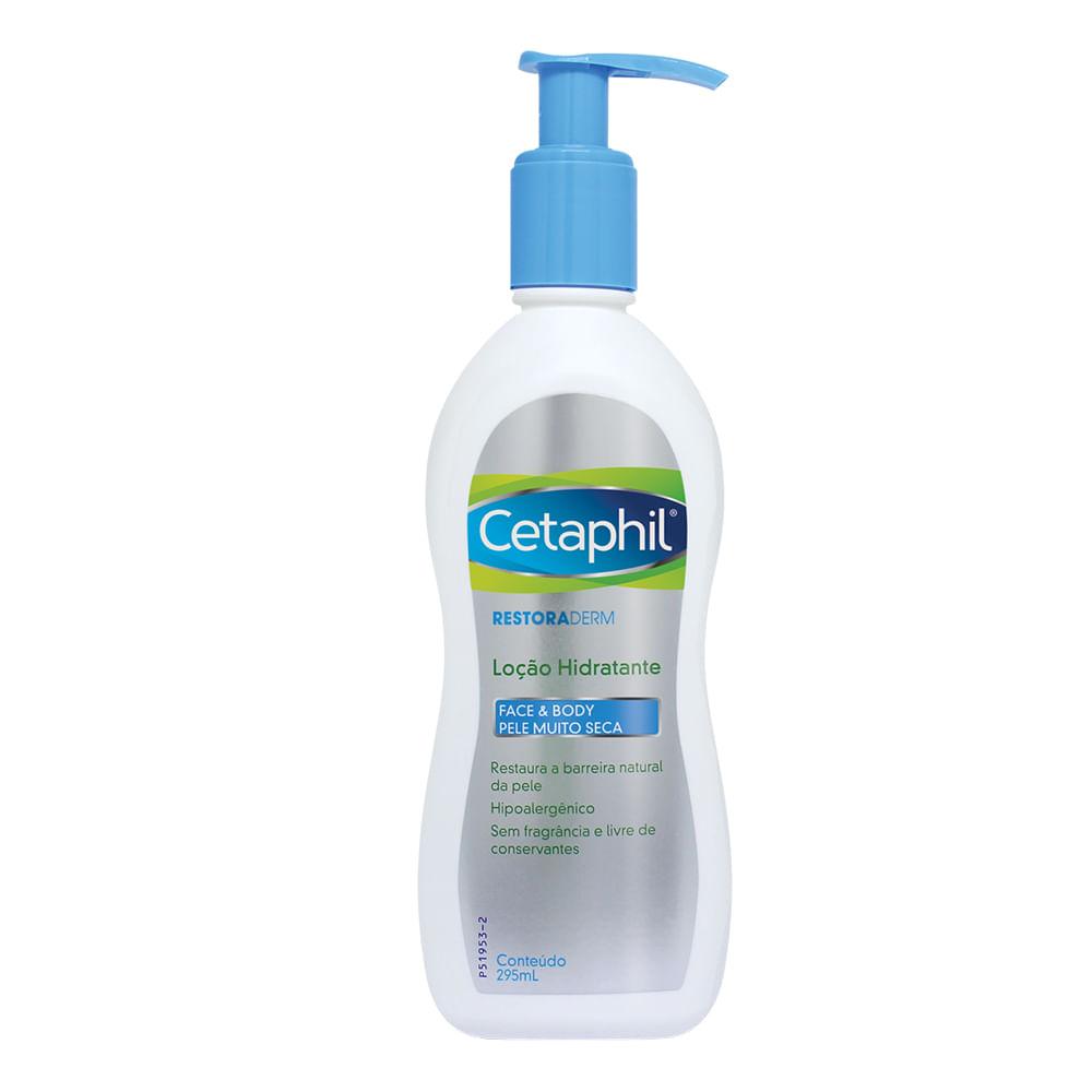 Cetaphil Restoraderm Galderma Loo Hidratante Dermocosmticos Body Wash 295ml Com Para Pele Muito Seca