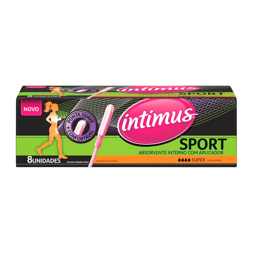 Absorvente Interno Intimus Sport Super 8 Unidades