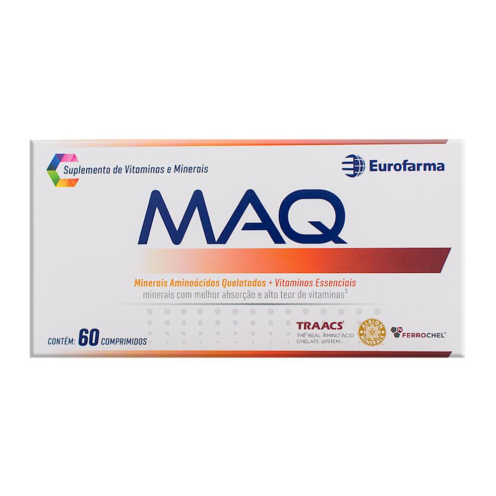 db47938e83 Maq Suplemento de Vitaminas e Minerais com 60 Comprimidos - Drogaria ...