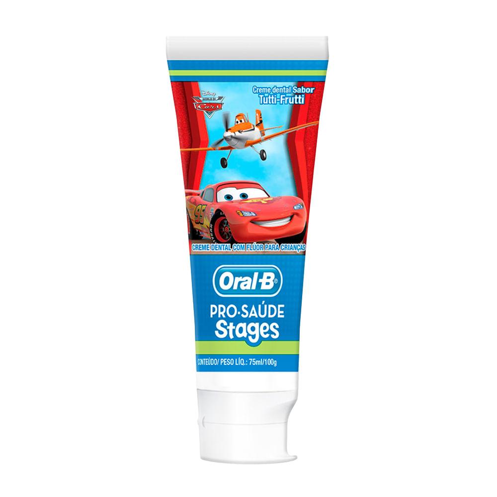 Creme Dental Infantil Oral B Pro Saude Stages Com Fluor Infantil