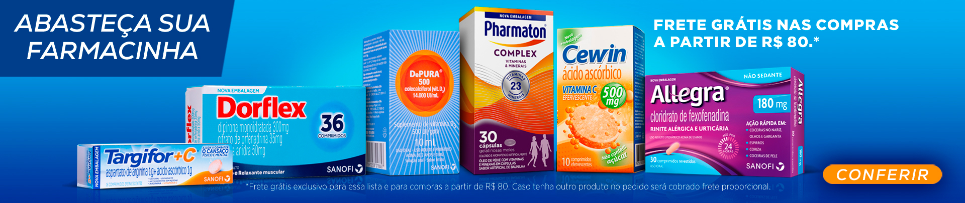 Farmacinha Sanofi