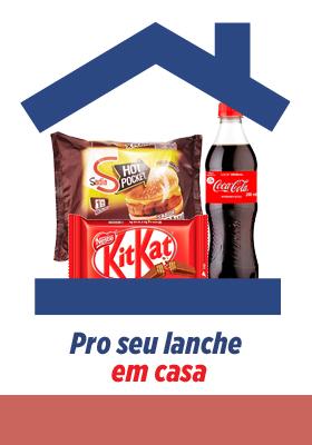 LANCHE EM CASA