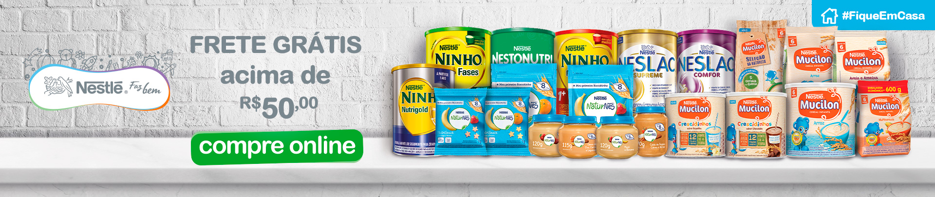 Nestle Frete Gratis