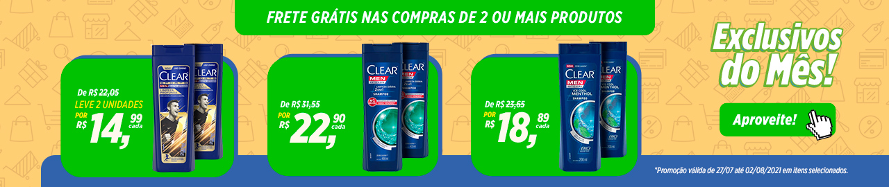 Exclusivo Clear - Julho
