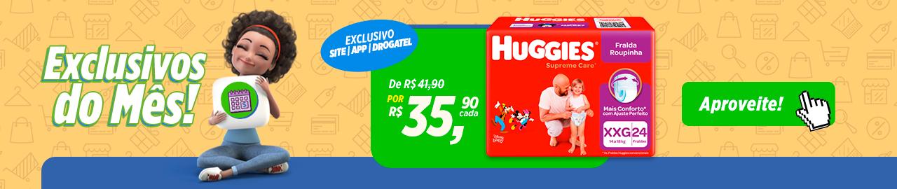 Exclusivo Huggies - Julho