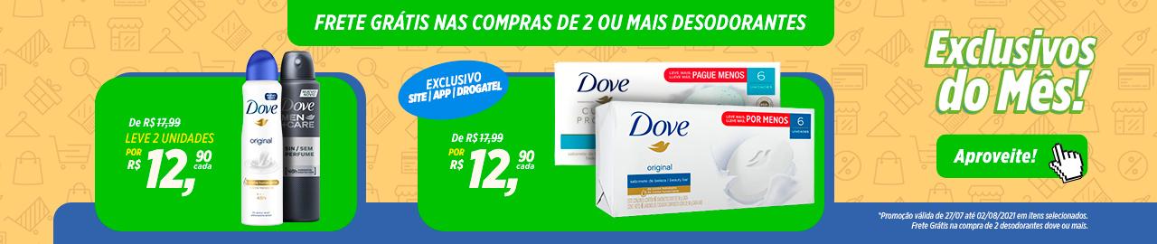 Exclusivo Dove - Julho